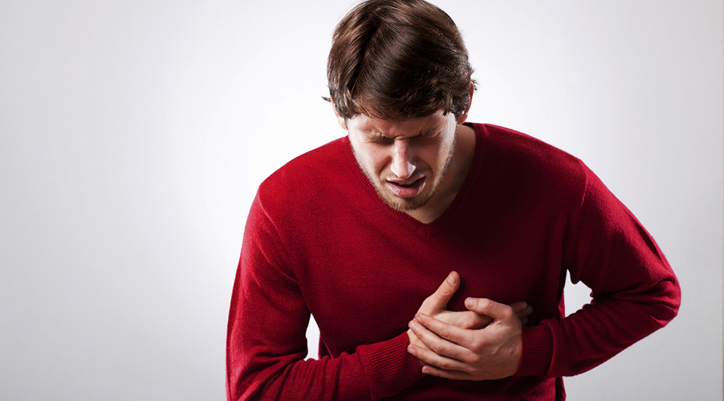 hjerteanfald